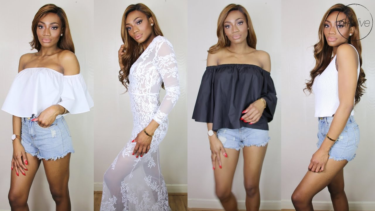 31882a985 HAUL | ZAFUL TRY ON • AFFORDABLE SUMMER FASHION!! - YouTube