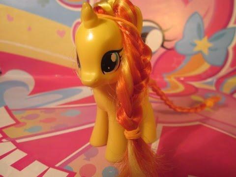 Hairstyles: Прическа для пони Сансет Шиммер