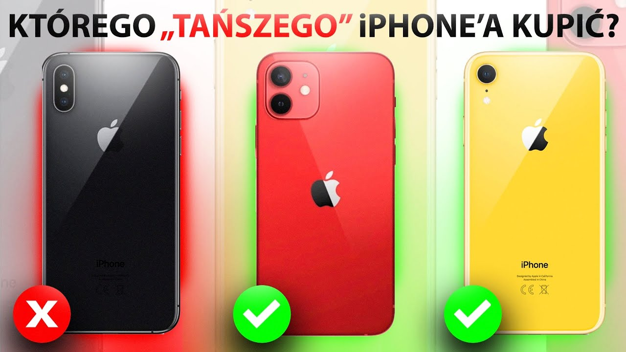 iPhone 12 mini vs 11 vs XS vs XR vs SE📱| KTÓRY WYBRAĆ?🔥 ...