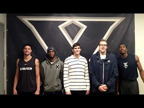 Xavier Men's Basketball Team 6th Fan Video