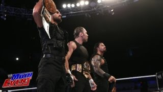 Kofi Kingston & The Usos vs. The Shield: WWE Main Event, Aug. 21, 2013
