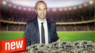 Andrés Iniesta, la historia de un hombre exitoso en el fútbol y en las empresas || LVTNAszok