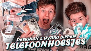 TELEFOONHOESJES DESIGNEN & HYDRO DIPPEN (DIY)