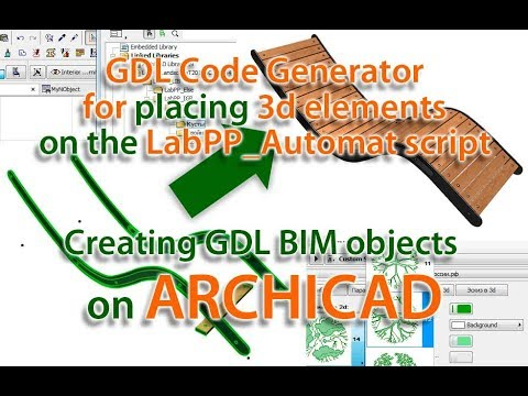 GDL Code Generator example on addons LabPP_Automat for ARCHICAD