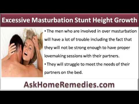 Masturbation stops height growth apologise