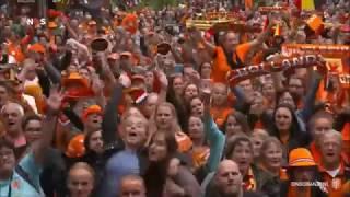 Oranje Leeuwinnen Huldiging Euro 2017 met John de Bever