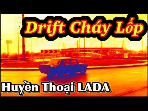 Siêu xe LADA huyền thoại Drift cháy lốp trên đường phố Moscow 18.02.2020