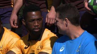 rugby astonishing rise of first black springbok captain kolisi