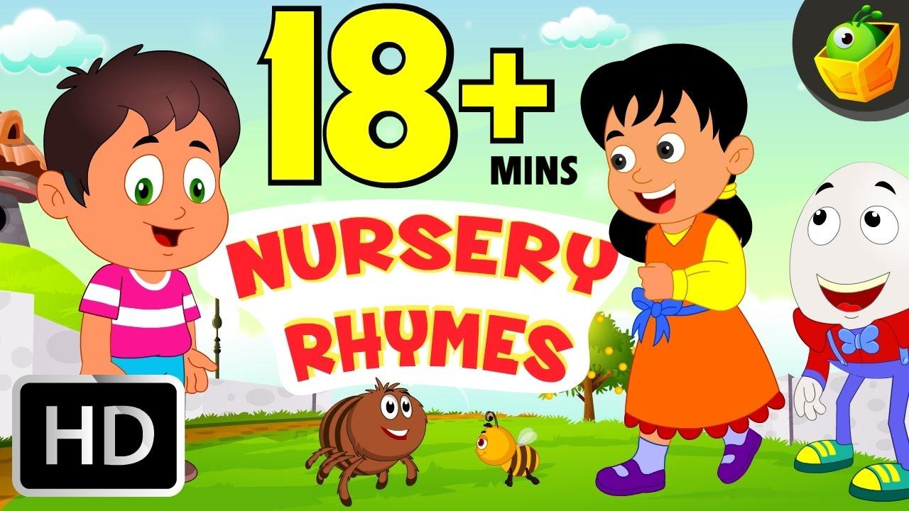 15+ Min Nursery Rhymes   Upgraded English Rhymes ...