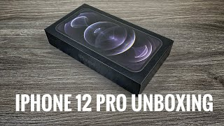 iPhone 12 Pro Graphite Unboxing & Setup