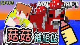 【Minecraft】茶杯原味生存Ep90 無限續杯????,菇菇補給站????【當個創世神,麥塊】