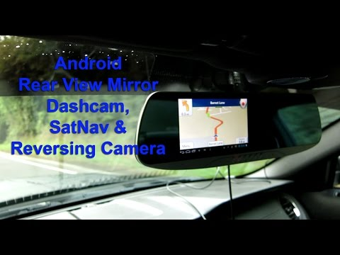 D901 Android Rear View Mirror Dashcam And Reversing Camera