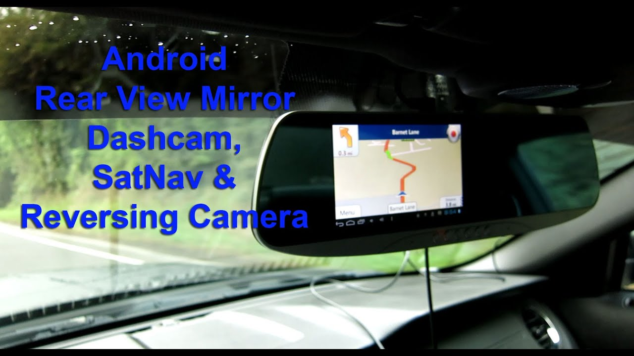 Watch on reversing camera with gps