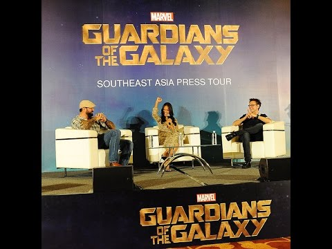 Guardians of the Galaxy Singapore Full Press Conference