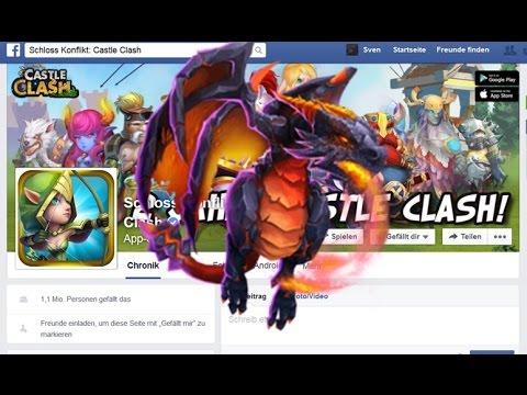 CC Zweiter Geburtstag: Facebook- Events (Gems + Molta) By Hunted Castle Clash / Schloss Konflikt