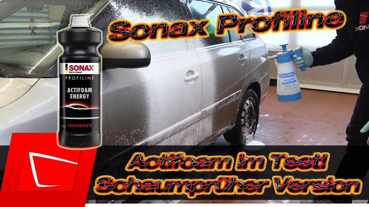 sonax actifoam snow foam neu im test alta foam 2000. Black Bedroom Furniture Sets. Home Design Ideas