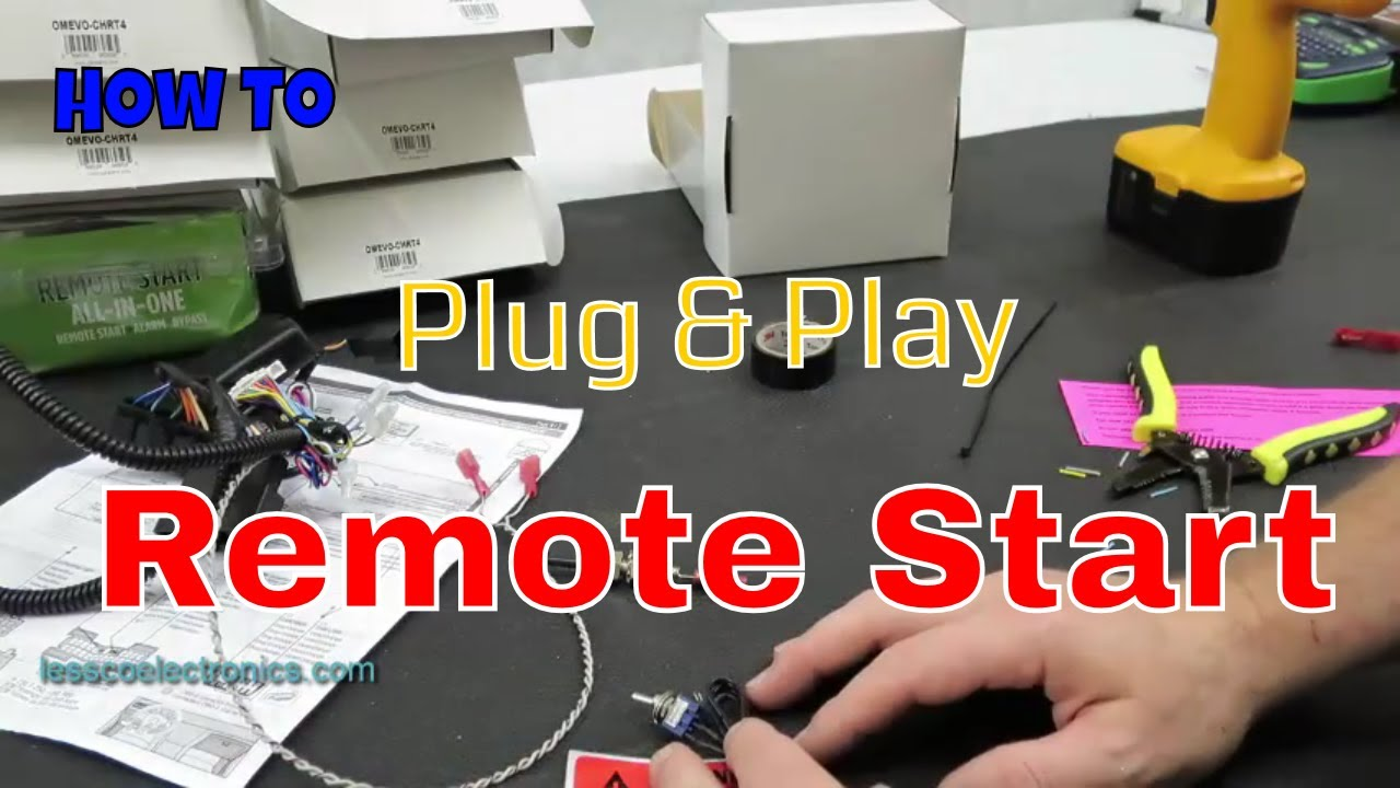 medium resolution of how to pre wire and prep a fortin ford plug and play remote start