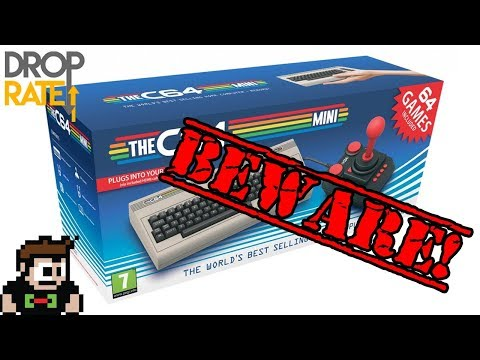 Commodore 64 Mini Coming Soon? Sounds good but BUYER BEWARE! Indiegogo C64 Disaster.