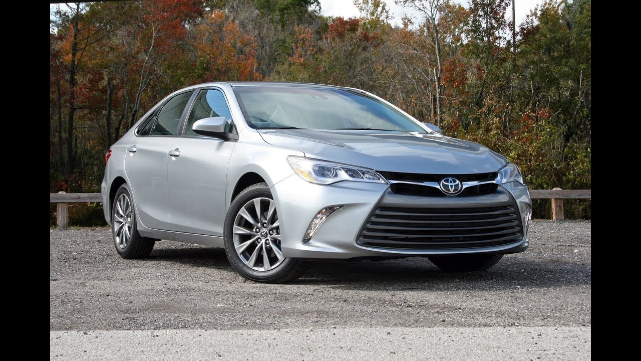 2015 Toyota Camry XLE  Driven  YouTube