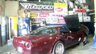 1980 Corvette 427ci Solid Roller SBC 7000RPM.wmv