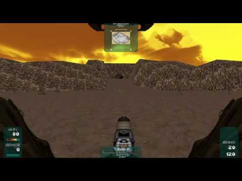 gzDoom - Fallout 2 Klamath + Toxic Caves remake in gzDoom engine