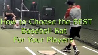 How to Choose a Youth Baseball Bat