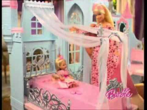 barbie cinderella castle german commercial youtube. Black Bedroom Furniture Sets. Home Design Ideas