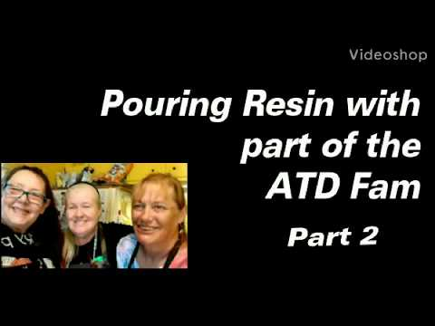 Pouring Resin With Some Friends Part Two | Resin Art | Resin Pouring | Resin Tutorial