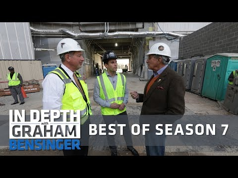 All access with Arthur Blank and the Falcons' new digs