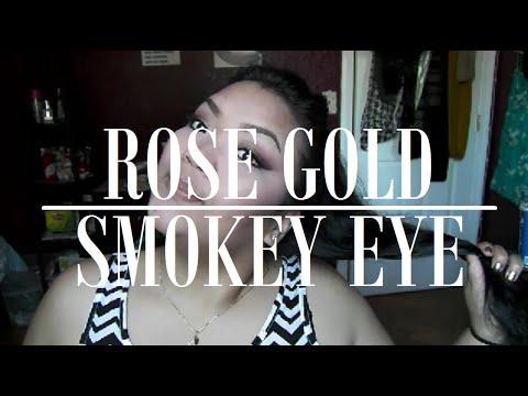 Rose Gold Smokey Eye - BH Cosmetics itsJudytime Palette thumbnail