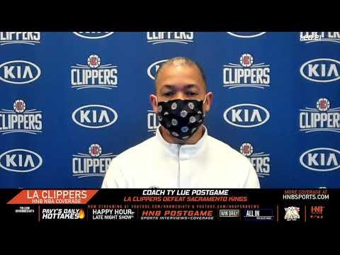 Coach Ty Lue Postgame LA Clippers vs Sacramento Kings 1.20.21