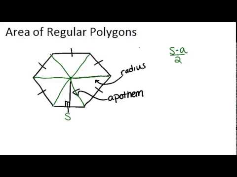 Area of Regular and Irregular Polygons ( Video