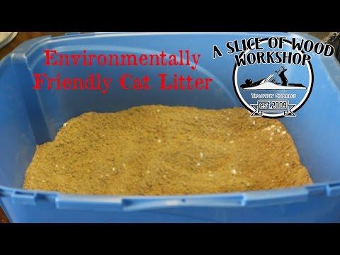 Quick Tip: Make Environmentally Friendly Cat Litter