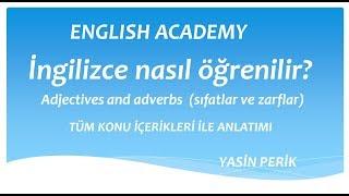 ingilizcede adjectives and adverbs konu anlatımı