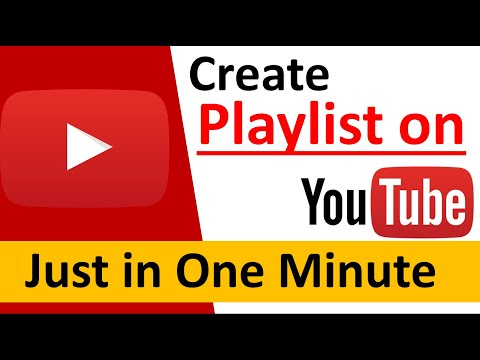 How to make playlist on Youtube | Create and manage Youtube playlists