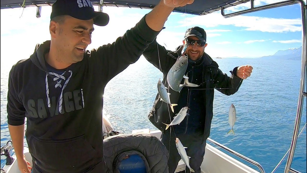 1 Saate 25 kg Balık Yakaladık !! / Jig ve Çapari ile İnanılmaz Bereket