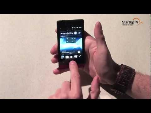 Sony Xperia Miro - recenzja smartfona z Androidem