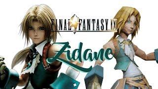 Final Fantasy Papercraft - FFIX Zidane Tribal 【ペーパークラフト】