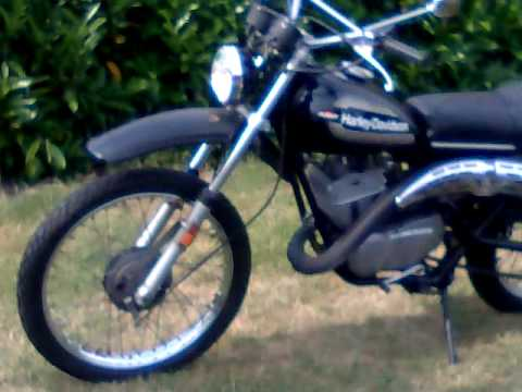 Amf Harley Davidson Dirt Bike