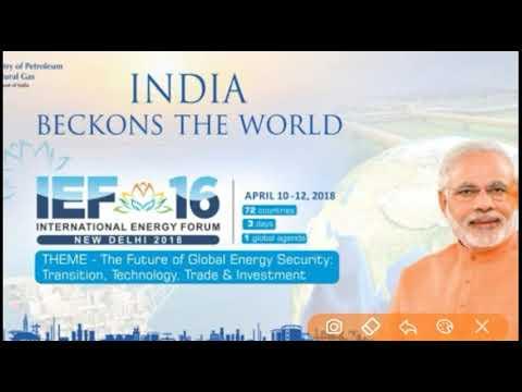 International Energy Forum new delhi 2018