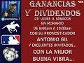 PROGRAMA RADIAL GANANCIAS Y DIVIDENDOS 04/09/2017 - SINTONÍA GANADORA.