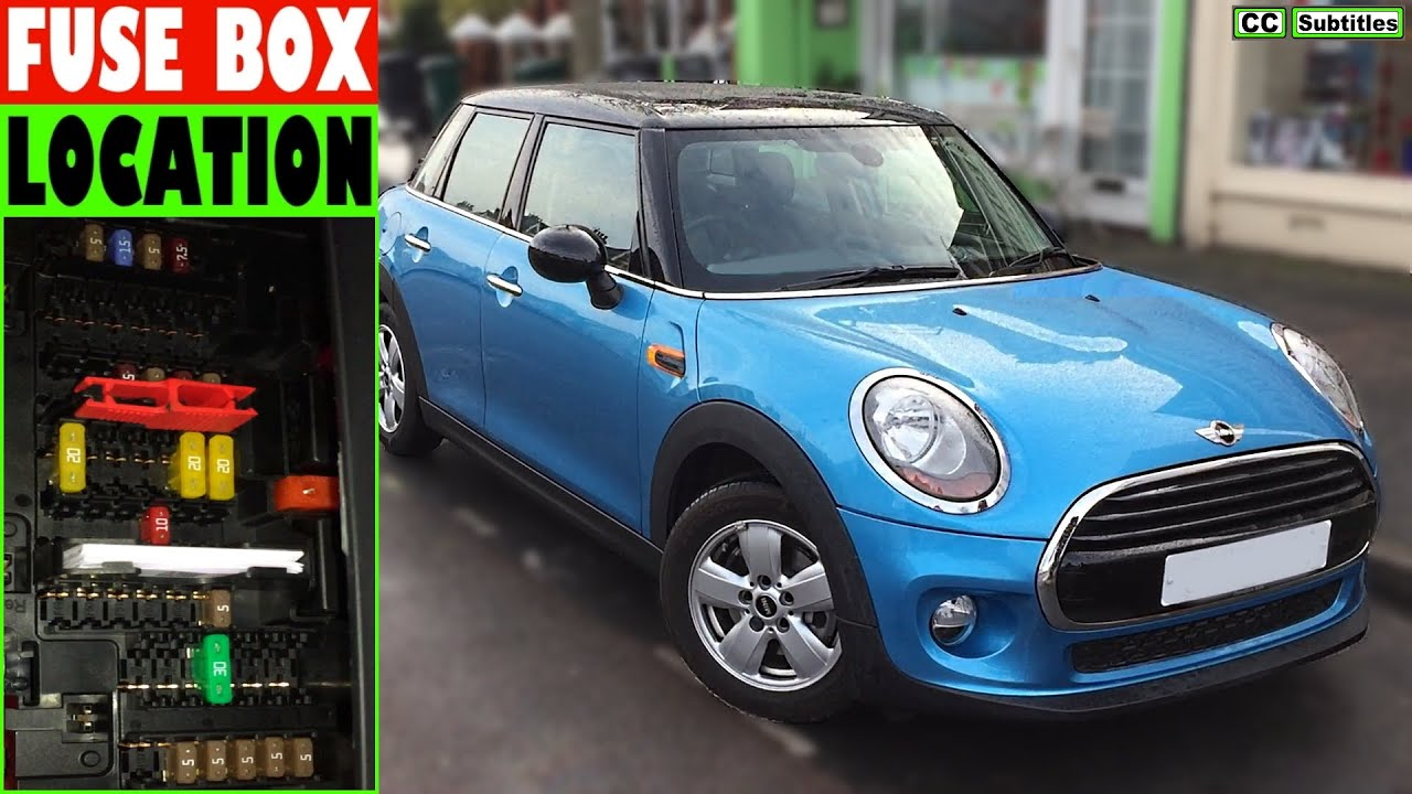 hight resolution of mini cooper fuse box location and how to check fuses on bmw mini cooper 3rd generation