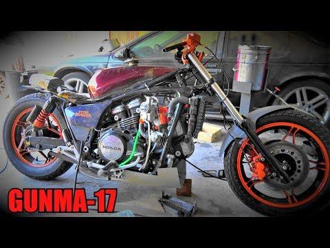 謎のⅤ型4気筒エンジンのバイクをレストア5★のんびり日曜日