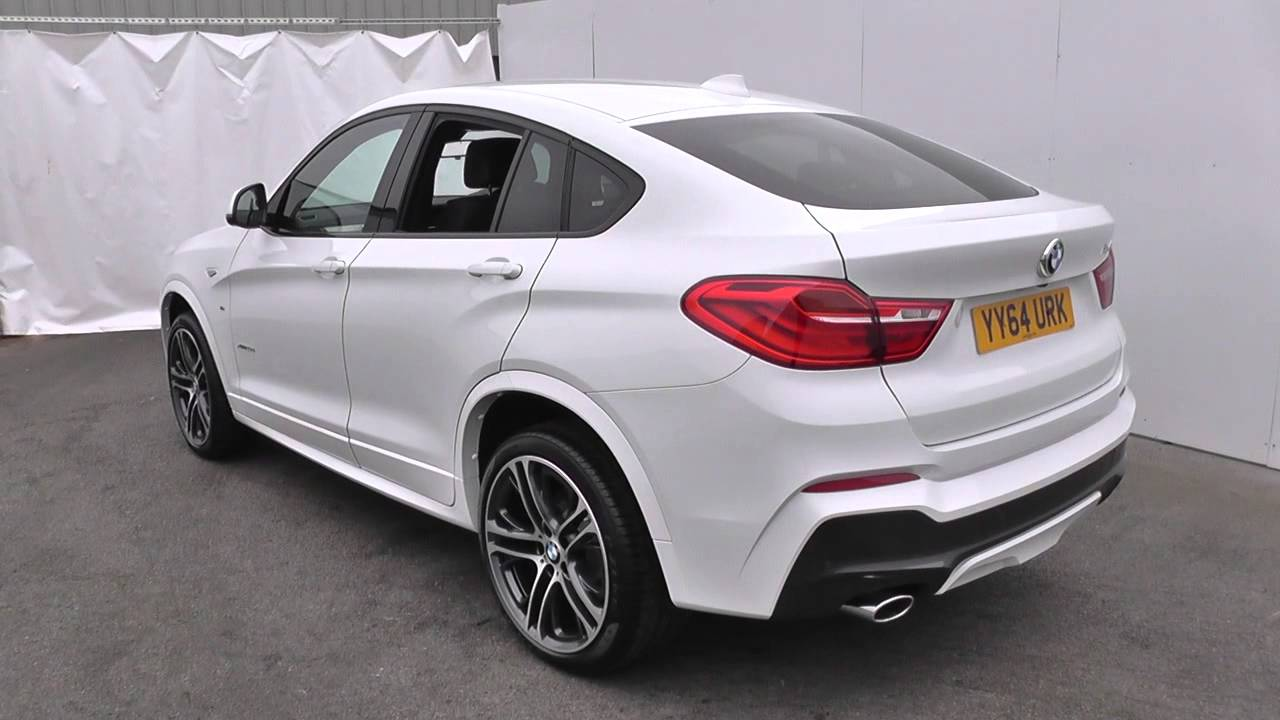 bmw x4 xdrive20d m sport 5dr step auto u14101 youtube. Black Bedroom Furniture Sets. Home Design Ideas