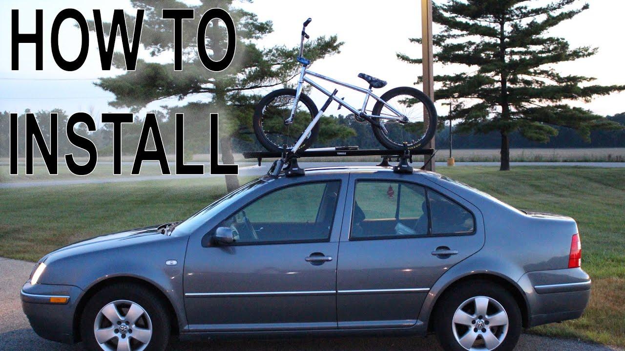 Bike Roof Rack How To Install Youtube