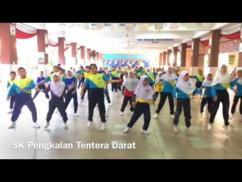 SK Pengkalan Tentera Darat @cheeke_my #cheekesbuddies2018 #3Mawar #SKPTD Cheek-e's Buddies Dance