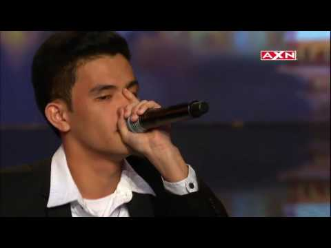 Neil Rey Beatbox amazing awesome people   Asia's Got Talent