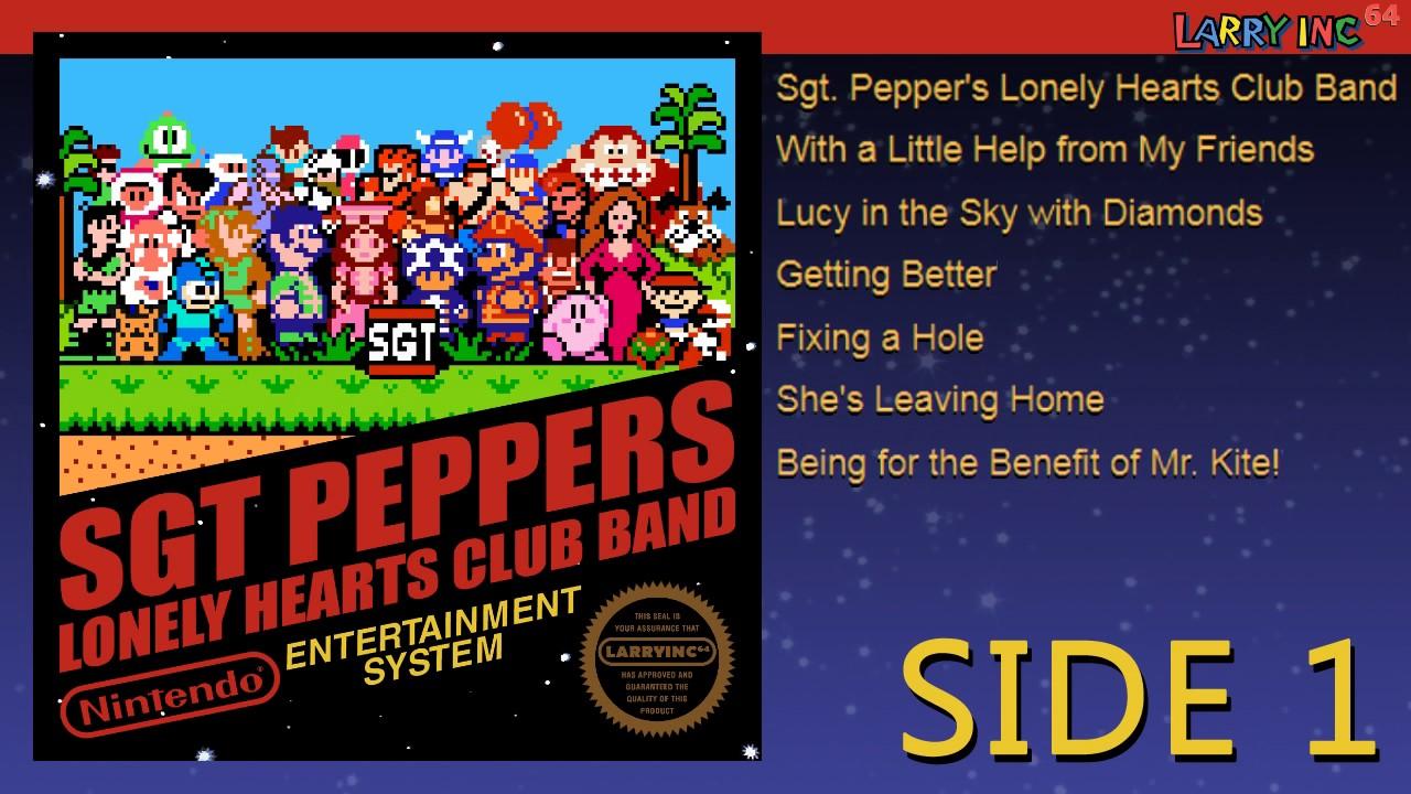 Bildresultat för nintendo sgt pepper