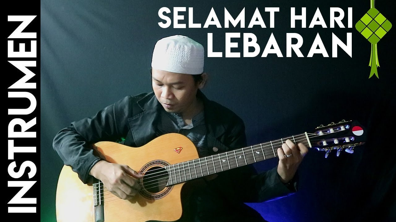 Selamat Lebaran Ismail Marzuki Chord 1