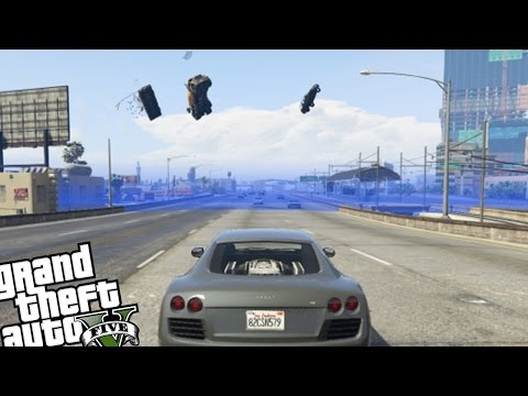 GTA 5 PC Mods - Force Field MOD (Star Wars Force Field MOD)